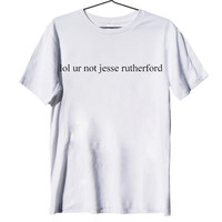 jesse rutherford shirt