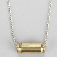Lovebullets Horizontal Bullet Necklace - Urban Outfitters