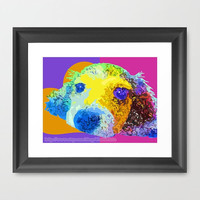 "Pie in the Sky Series: ""Candy Coated"" - Dachshund Print Photography (Dog) (10"" x 8"") - White Wall Art Home Decor"