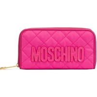 Moschino Quilted Wallet - Divo - Farfetch.com