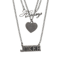 DC Comics Suicide Squad Harley Quinn Layered Necklace