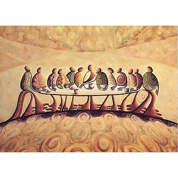 """""""The Last Supper"""" Giclee on Canvas"""
