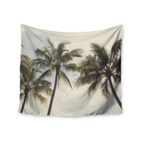 "Catherine McDonald ""Boho Palms"" Coastal Trees Wall Tapestry"