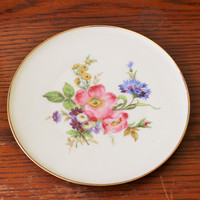 Vintage China Plate J K Decor Carlsbad Bavaria