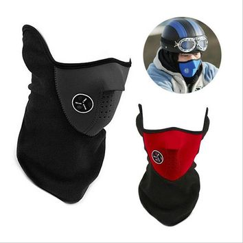 Neoprene Neck Warm Half Face Mask Winter Veil Windproof Sport Bicycle Motorcycle Ski Snowboard Outdoor Balaclava Masks