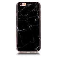 New Black Marble Stone Case Cover for iPhone 7 7Plus & iPhone 6s 6 Plus & iPhone X 8 Plus with Gift Box
