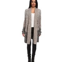 Splendid Exploded Marl Duster Neutral - 6pm.com