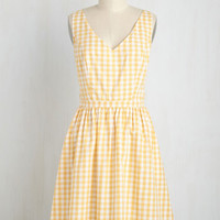 Patio My Goodness! Dress in Lemonade
