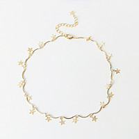 LWONG Dainty Gold Color Chain Tiny Star Choker Necklace for Women Bijou Necklaces Pendants Simple Boho Layering Chokers Chockers-in Choker Necklaces from Jewelry & Accessories on Aliexpress.com | Alibaba Group
