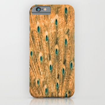 Orange Feather iPhone & iPod Case by Jessica Ivy