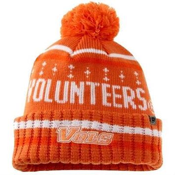 Tennessee Volunteers Top of the World Barometer Cuffed Knit Hat with Pom