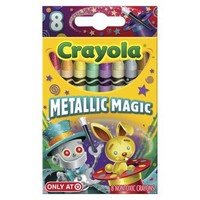 Crayola 8ct Pick your Pack Metallic Magic Crayons