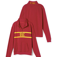University of Southern California Boyfriend Half Zip