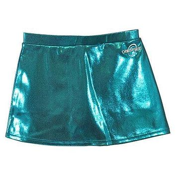 O3CHSKRT006 - Obersee Cheer and Dance Skirt - Turquoise