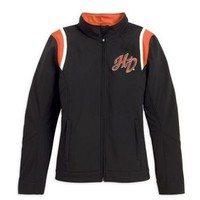 Harley-Davidson Women's Embroidered Soft Shell Jacket. 98535-13VW