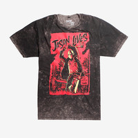 Friday The 13th Jason Lives Acid Wash T-Shirt