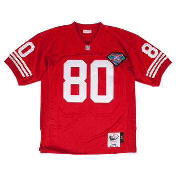 Mitchell & Ness Jerry Rice 1994 Authentic Jersey San Francisco 49ers In Scarlet Red