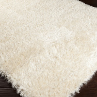 Rhapsody Area Rug | Off-White Shag Rugs Machine Made | Style RHA1001
