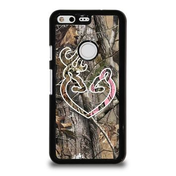 CAMO BROWNING LOVE-PHONE 5 Google Pixel Case Cover