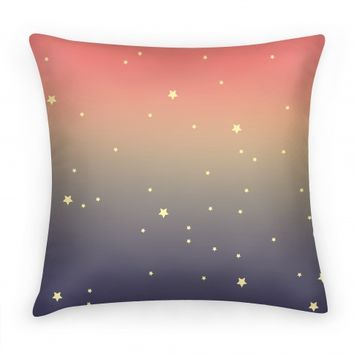 Galaxy Star Pillow