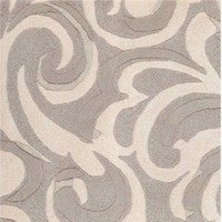 Candice Olson Modern Classics Square Blue Gray Contemporary Rug - CAN1947-1616 - Black and Gray Rugs - Area Rugs by Color - Area Rugs