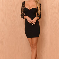 Evening Stroll Dress - Black