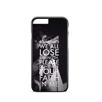 Sleeping With Sirens Song iPhone 6 Case