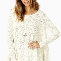 Hidden Charms Lace Top