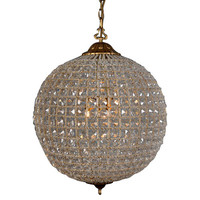 Cimberleigh Crystal Chandelier, Small, Ceiling Chandeliers