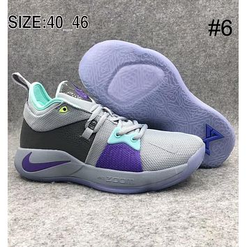 NIKE PG2 Paul George Pickle Basketball Shoes Mamba Spirit Basketball Shoes F-AHXF #6