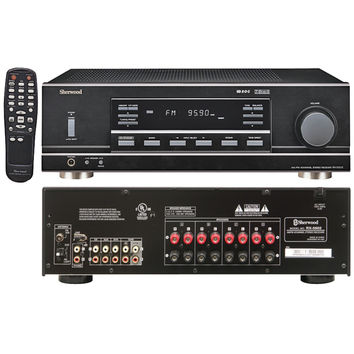 Sherwood 2-channel 100-watt Multisource Dual-zone A And V Receiver