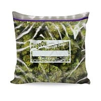 Weed Bag Couch Pillow