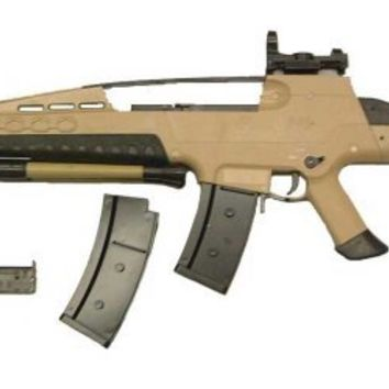 JLS S-M8 XM8 Spring Airsoft Rifle Tan