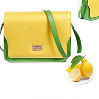 Colorful Fluorescence Color Shoulder bag