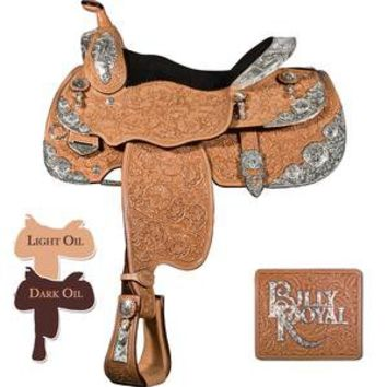 Billy Royal® Classic Thunder Supreme Show Saddle in Show