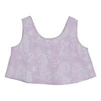 BOTANICAL PALE OVER TANK TOP - EMODA Global Online Store