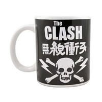 The Clash Mug, Skull And Crossbones