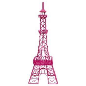 Hot Pink Metal Eiffel Tower Decor | Shop from Hobby Lobby on Hobby Lobby Outdoor Wall Decor Metal id=91835