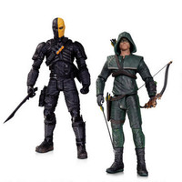 Arrow: Oliver Queen vs. Deathstroke Action Figure Two Pack Set | WBshop.com | Warner Bros.