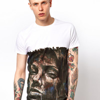 Supreme Being | Supremebeing X WCP T-Shirt By David Walker Face Print at ASOS