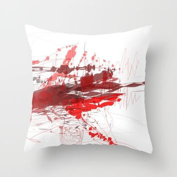 t_5 Throw Pillow by Kristina Kerstner