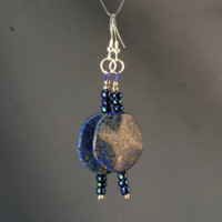 Lapis Lazuli Earrings - Heyme's Baltic Amber