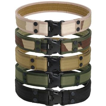 Tactical Belt Men's Military Belt