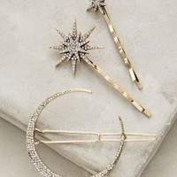 Stellar Hair Set by Anthropologie in Gold Size: One Size Hair