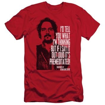 Sons Of Anarchy - With Tig Short Sleeve Adult 30/1