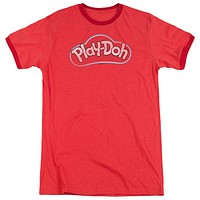 Mens Play-Doh Lid  Retro Ringer Tee