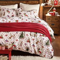 The Grinch™ Flannel Sheet Set