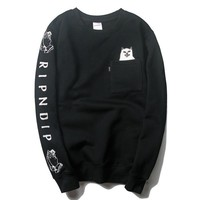 Pullover Winter Men Print Hoodies [211450003468]