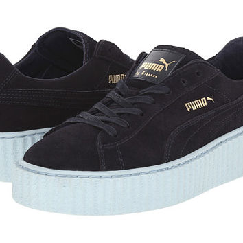 PUMA Rihanna x Puma Suede Creepers Peacoat/Cool Blue - Zappos.com Free Shipping BOTH Ways