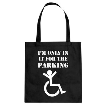 Tote Disabled Parking Canvas Tote Bag